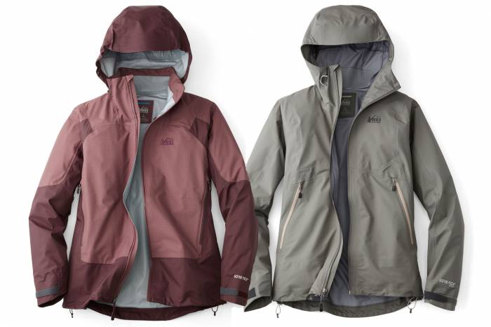 gore tex rei shell jackets