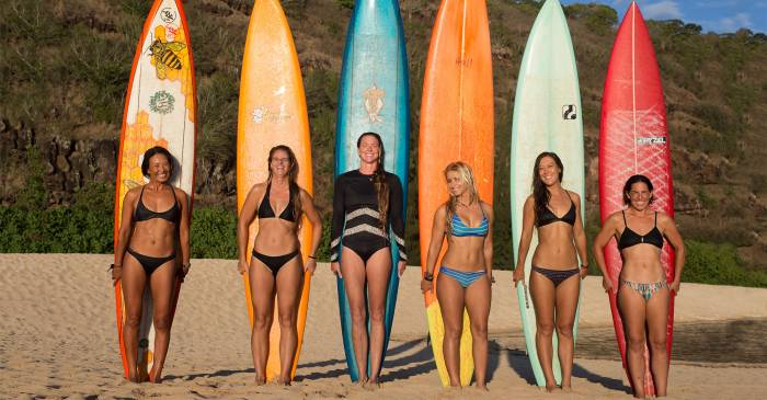 meet the women of big wave surfing