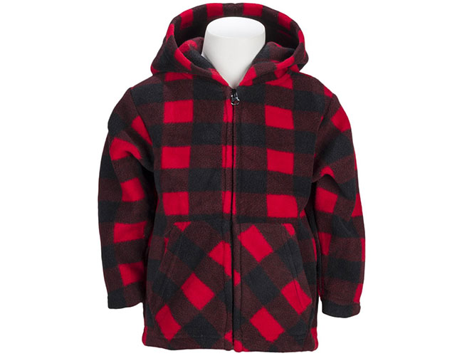 Trailcrest Plaid Fleece Jacket for Infants, Toddlers, and Children