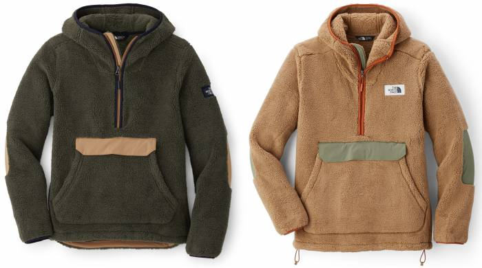 the north face campshire fleece