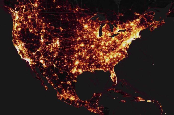 strava heatmap united states
