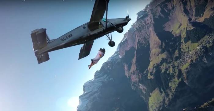 wingsuit airplane