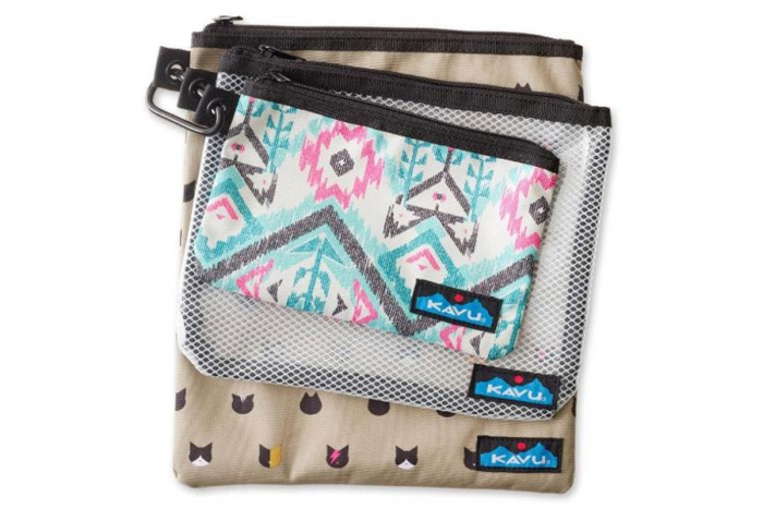 KAVU Travel Goodie Pouches