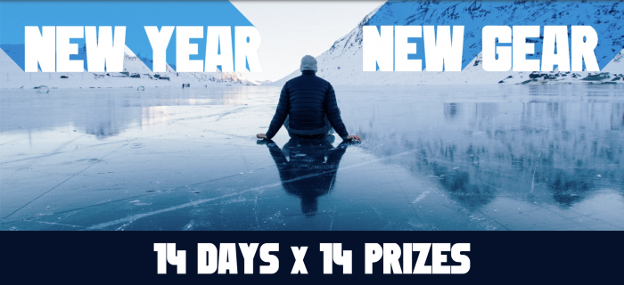 14 Prizes, 14 Days: New Year, New Gear Giveaway | GearJunkie