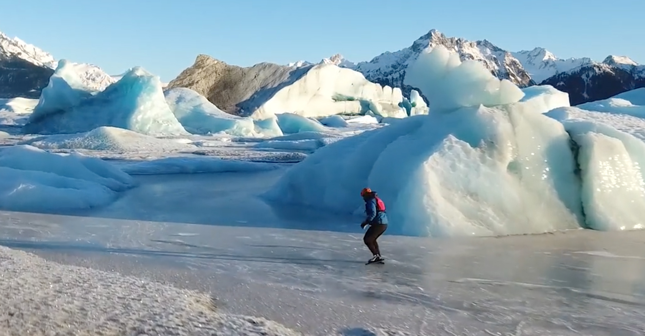 Ice Skating Alaskan Backcountry Is The Stuff Of Dreams