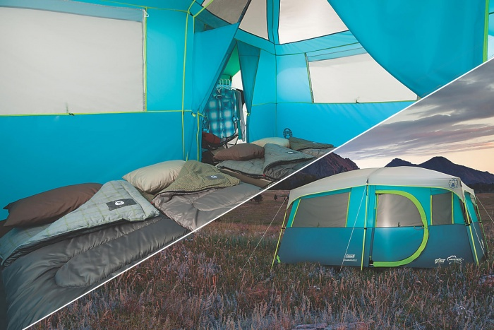 coleman 8-person cabin