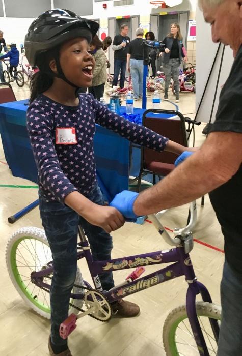 free bikes 4 kidz child riding