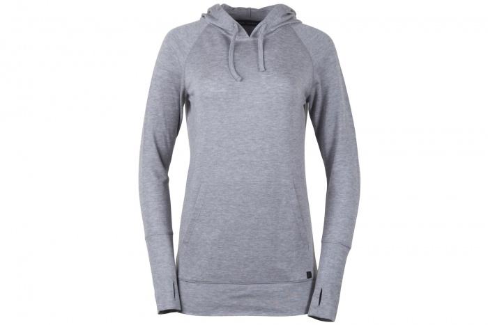 merino ridge natural hoodie