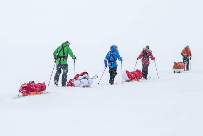 lake winnipeg polar exploration eric larsen