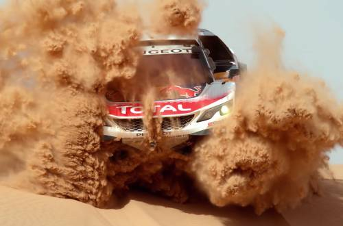 dakar rally 4k slowmotion