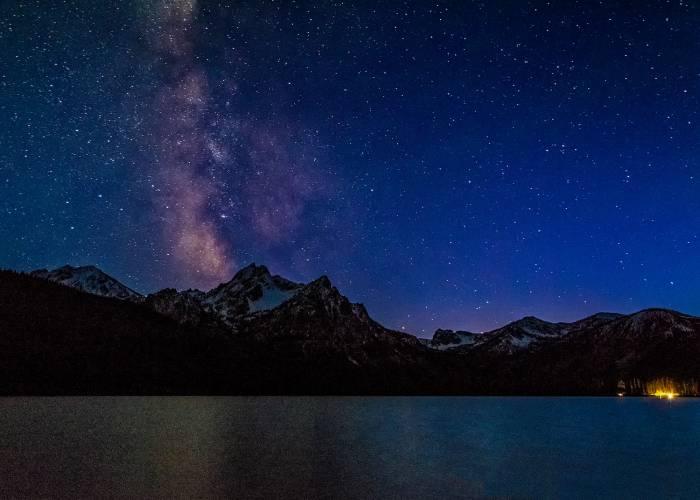 stanley lake idaho dark sky reserve