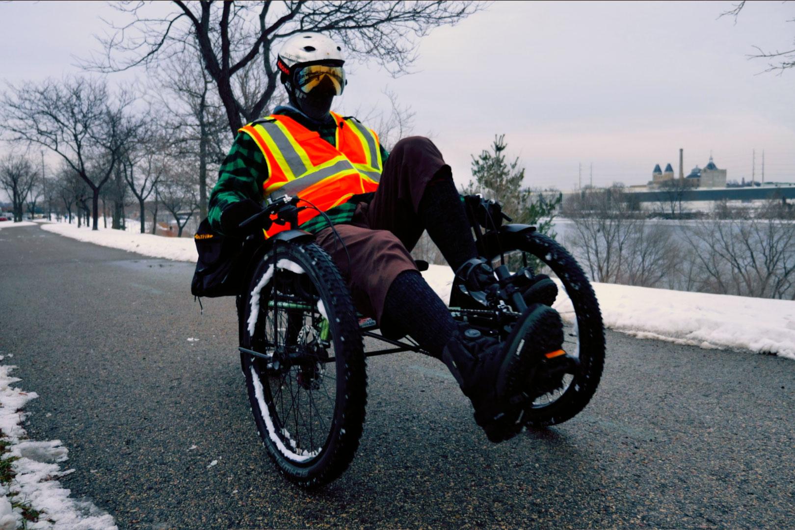 terratrike rambler riding bike path