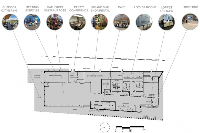 theo wirth trailhead outdoor recreation center schematic