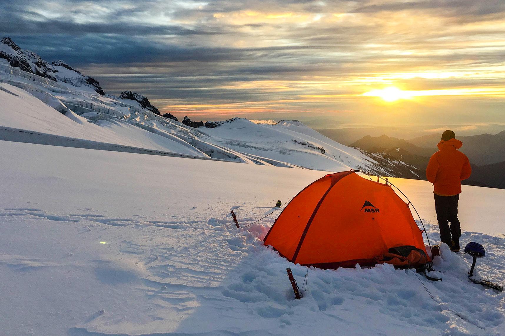 msr advance pro 2 tent review 4-season & Pitch on a Ledge: MSR Advance Pro 4-Season Tent Review