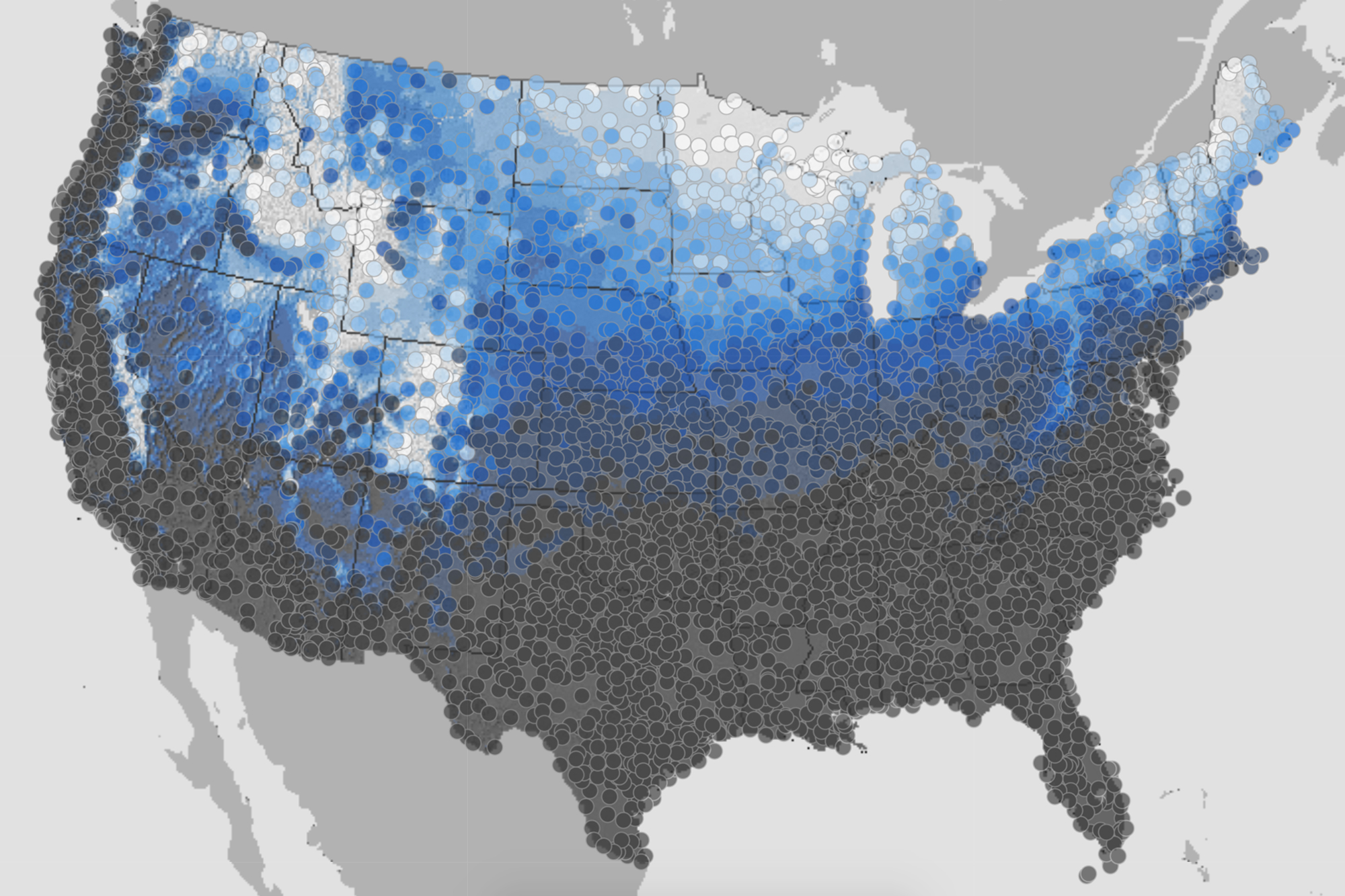 will it snow christmas map - Will It Be A White Christmas