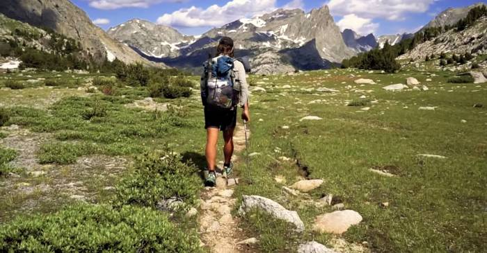 Continental divide trail video in four minutes