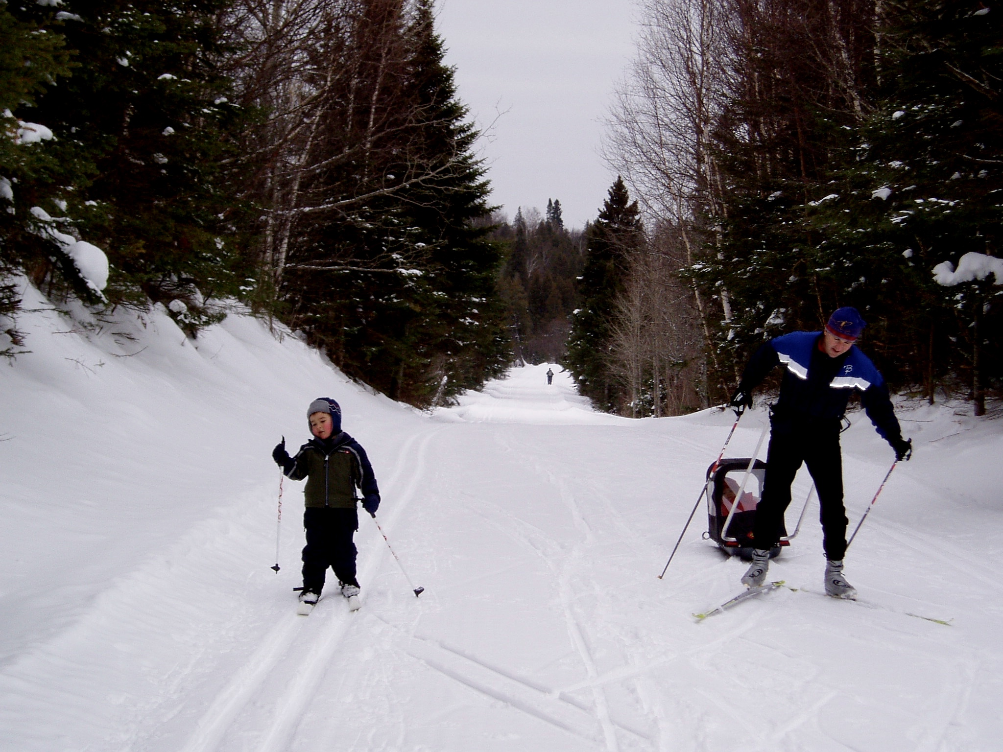 Tow Your Kids While Cross-Country Skiing: Pulk 101 | GearJunkie