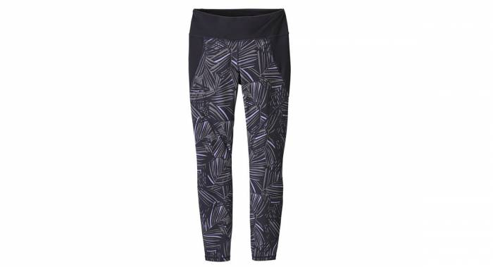 Patagonia Women's Leggings with black-and-white design