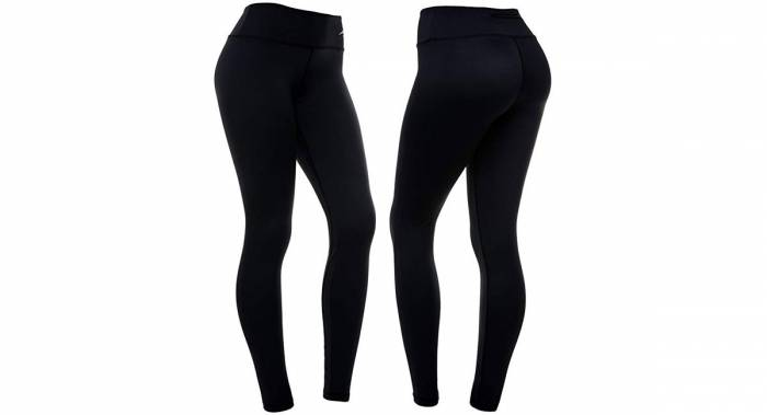 Women's Black Running Leggings