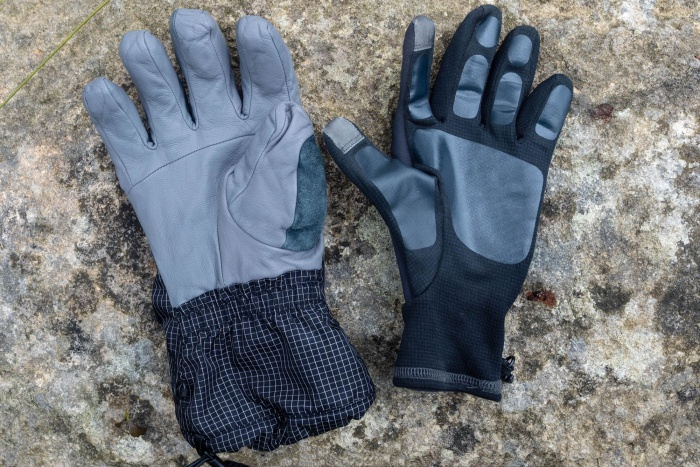 Black Diamond Helio gloves liners
