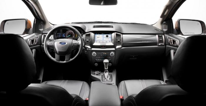 2019 ford ranger dashboard