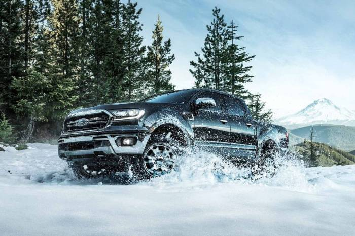 2019 ford ranger winter snow