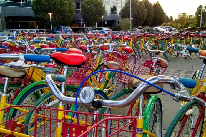 Google 'Free Bikes' Stolen by the Hundreds Each Week