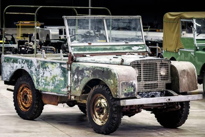 land rover series 1 1948 restoration