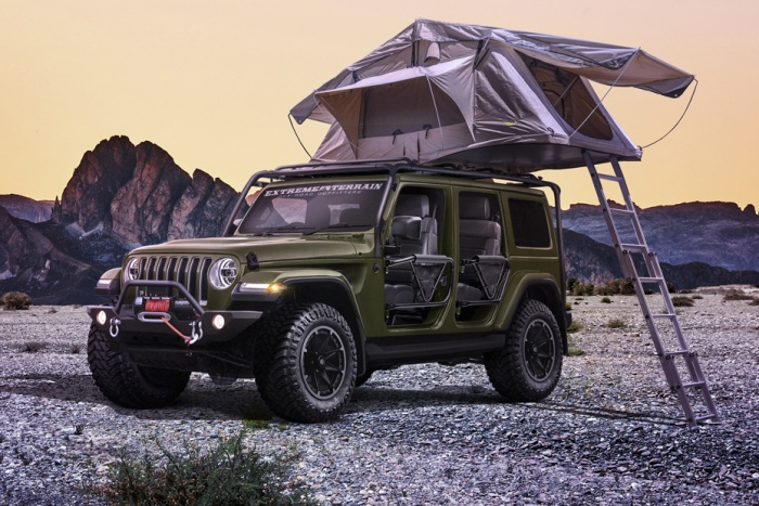 Jeep Concepts Target Beach Camping And Apocalypse