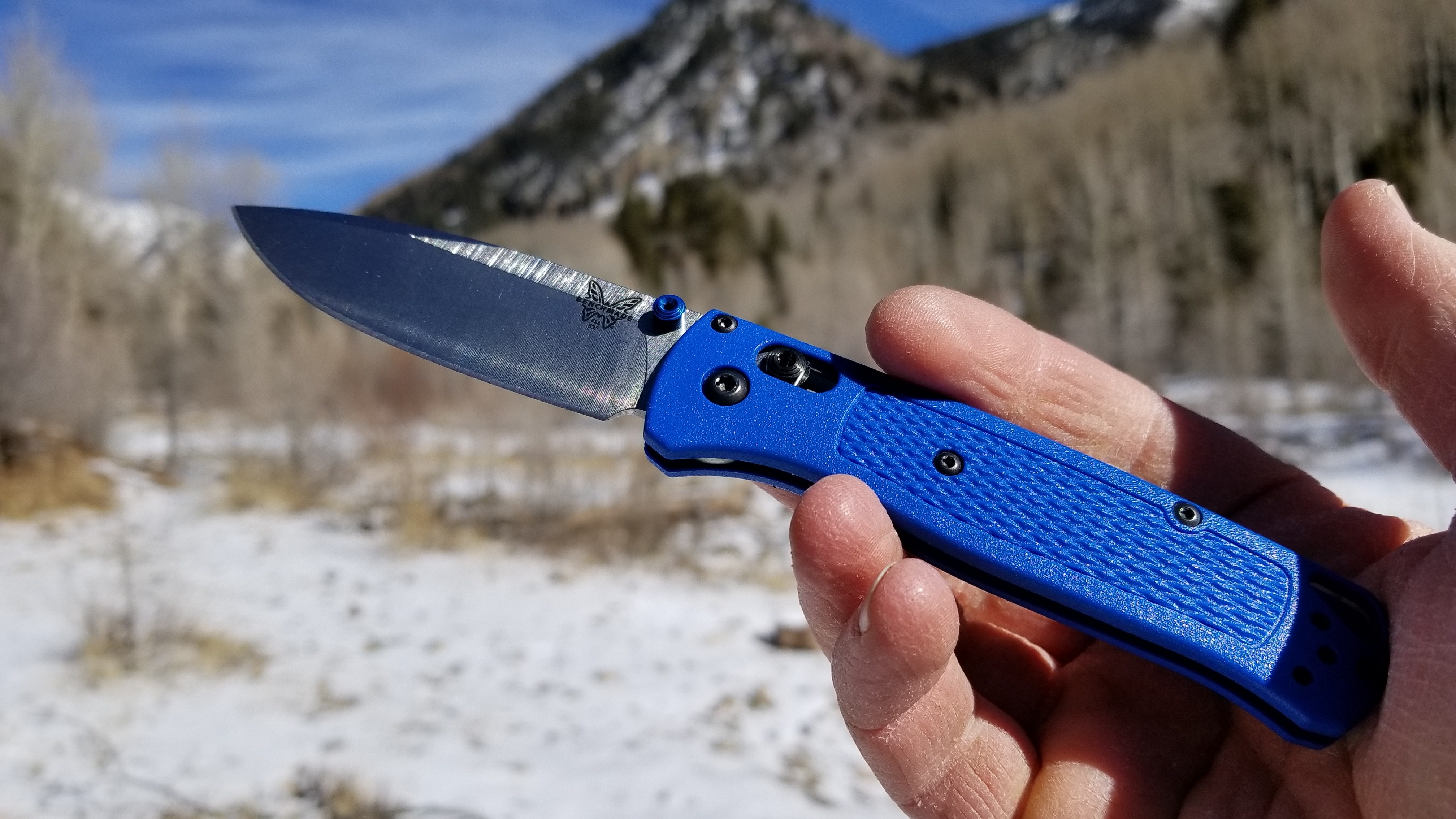 Hiker's Dream Knife: Benchmade Bugout Review | GearJunkie