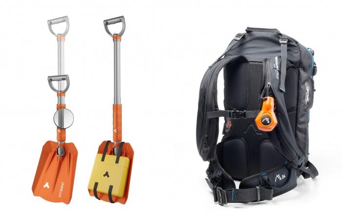 Advenate avi pack and shovel