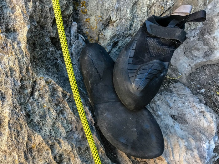 Black Diamond Shadow climbing shoe review