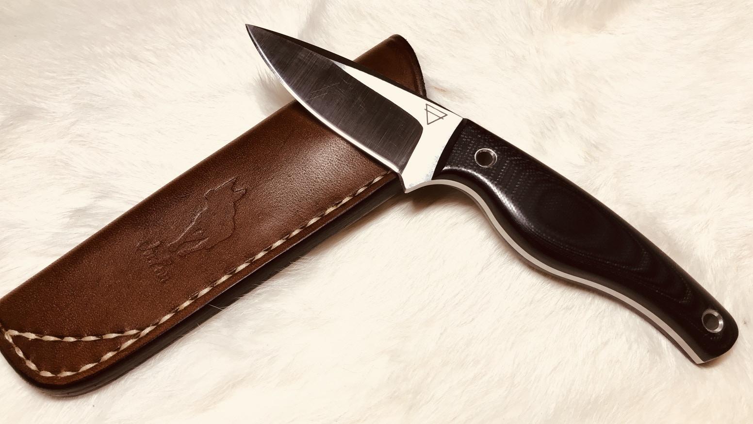 mako rex 121 hard steel knife
