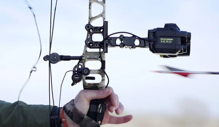 Garmin Xero bow sight test