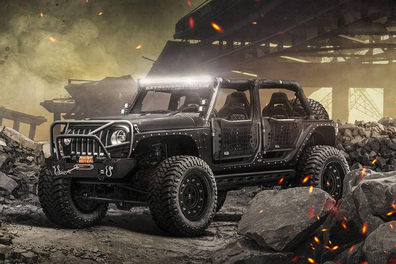 Build A Jeep >> Jeep Concepts Target Beach, Camping, and 'Apocalypse'