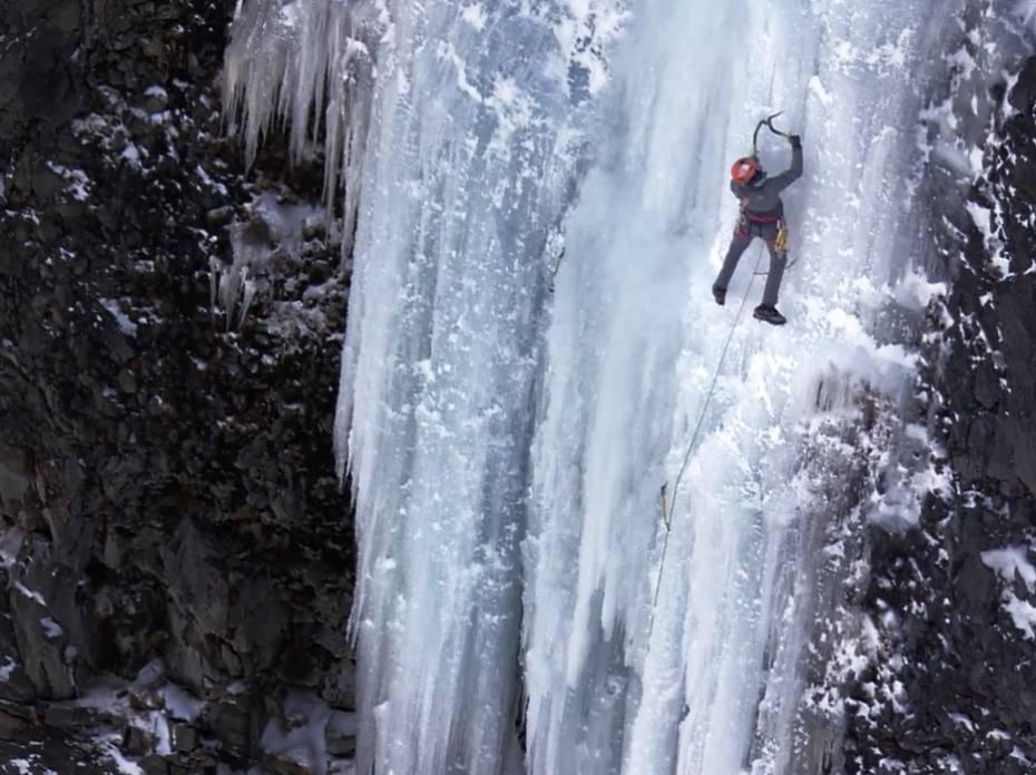 conrad anker ice climb