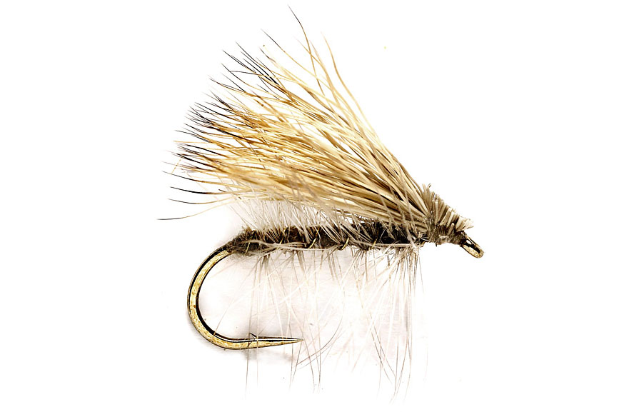 14 3 x TUPP/'S INDESPENSIBLE DRY TROUT FLIES  size 12 18   available 16