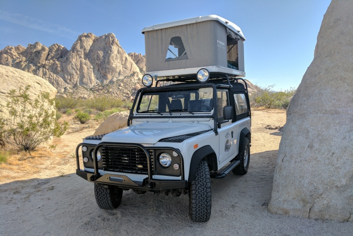 pacific overlander roof top rental