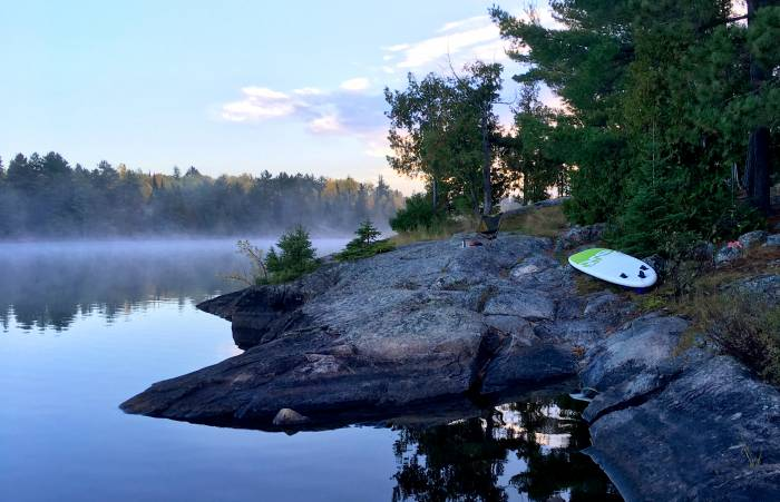 SUP, Stand Up Paddle Board BWCA