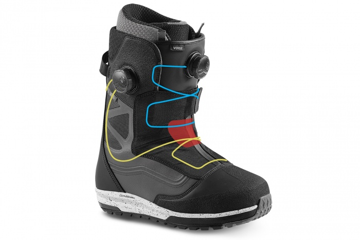 vans and the north face verse Snowboard boot review