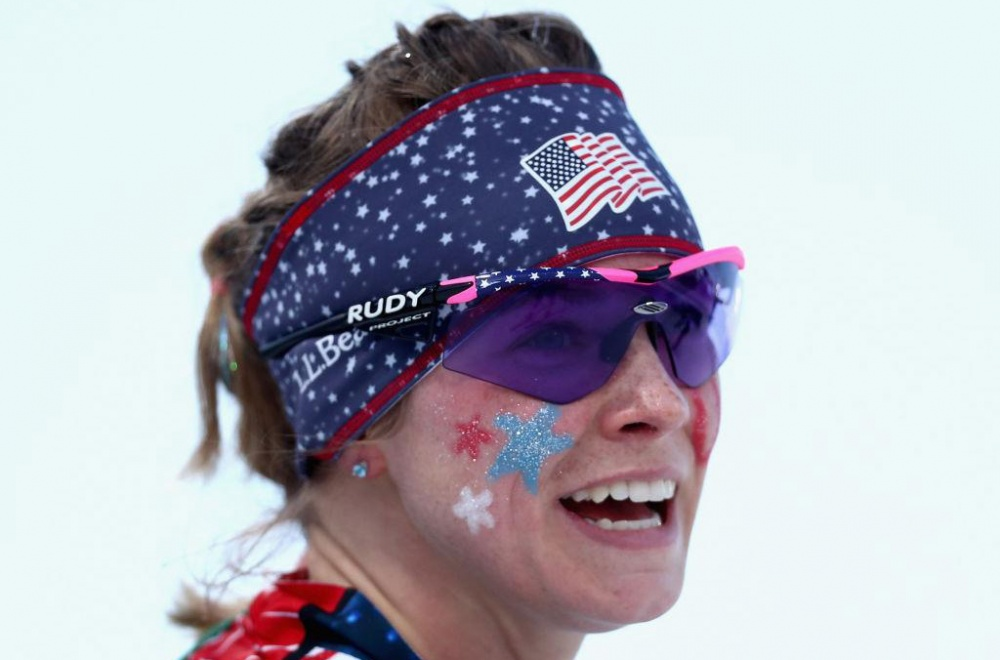 cross country skiing us wins gold