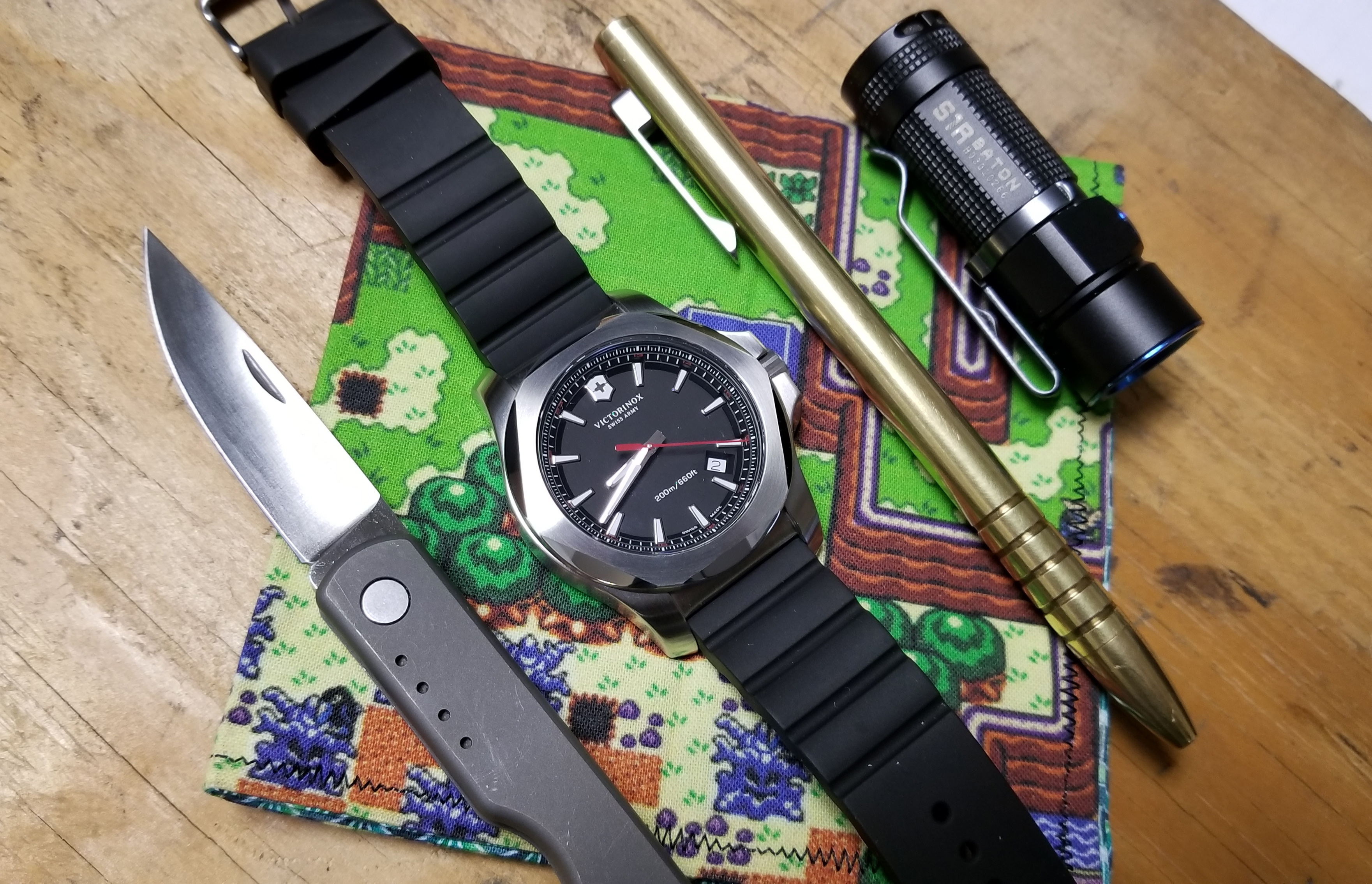 Victorinox INOX Watch edc