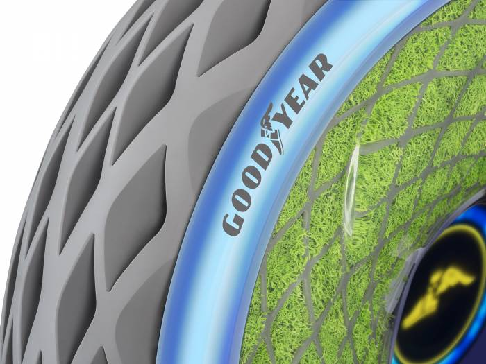 Goodyear Oxygene: A Tire That Cleans Air