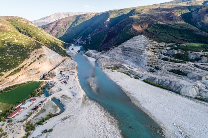 Patagonia Blue Heart dams in Balkans