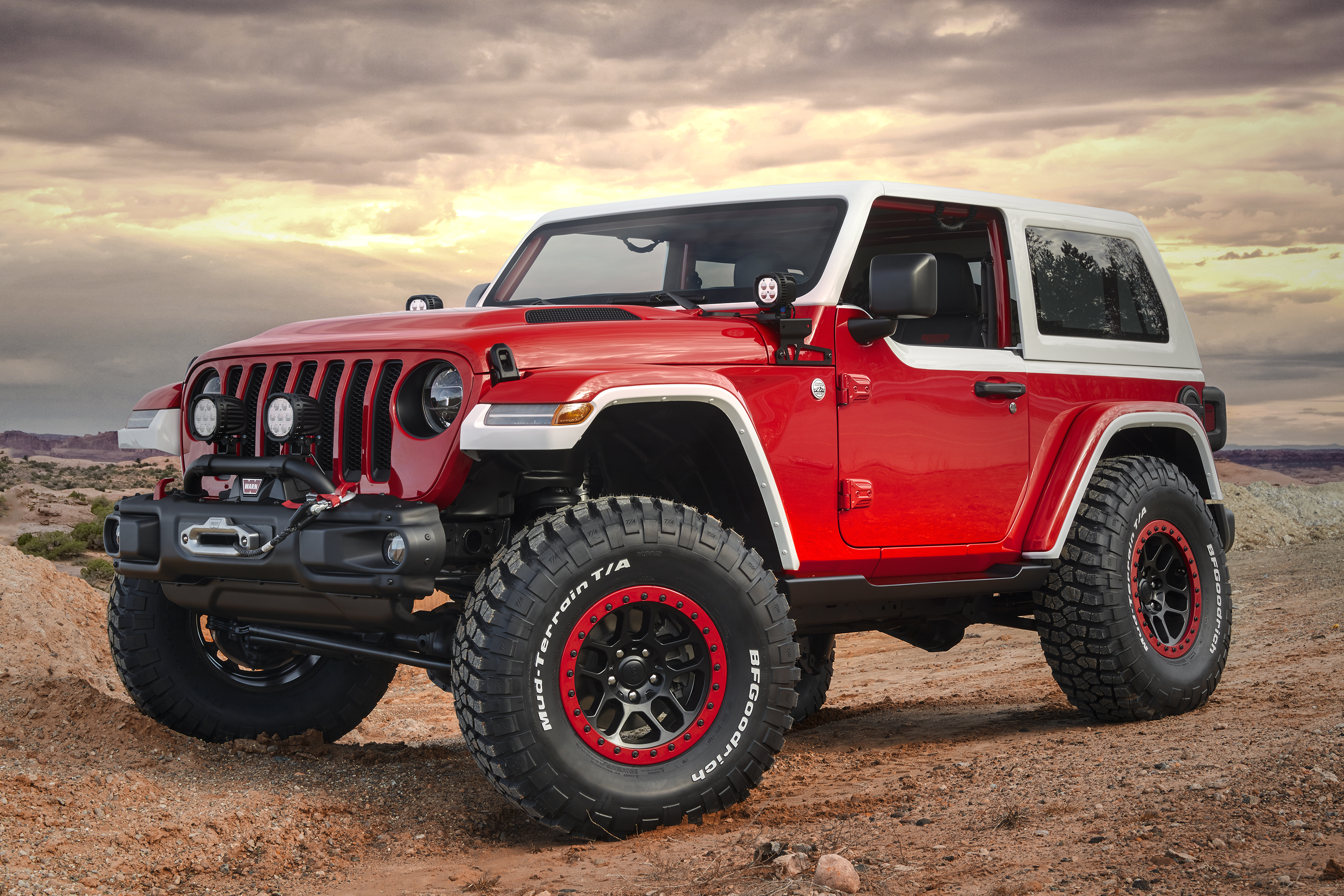 jeep teases 7 easter safari concepts for 2018 gearjunkie. Black Bedroom Furniture Sets. Home Design Ideas