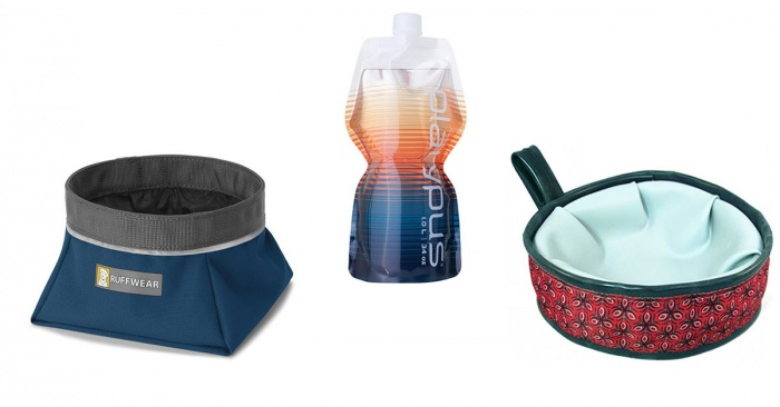 Collapsible Dog Water Bowls for Hiking