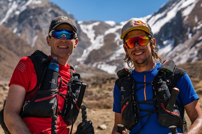 Great Himalayan Trail record