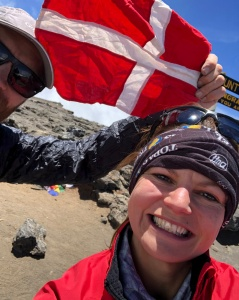 Kristina Madsen FKT fastest time up Kilimanjaro