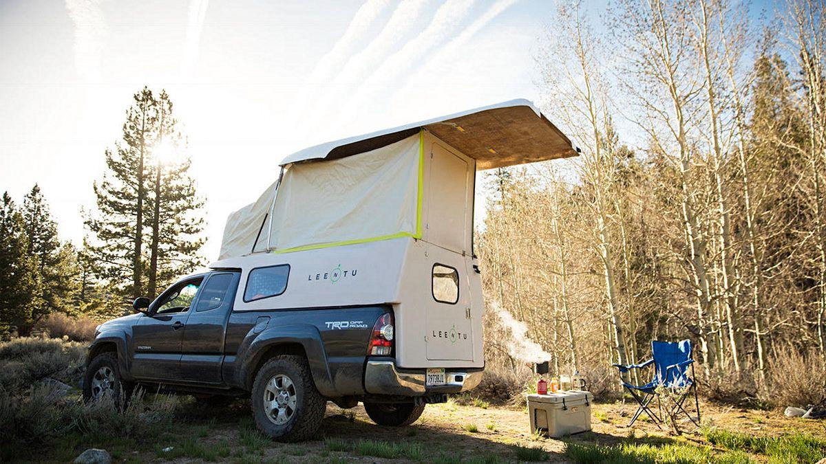Meet Leentu, the 150-Pound Pop-Up Camper | GearJunkie