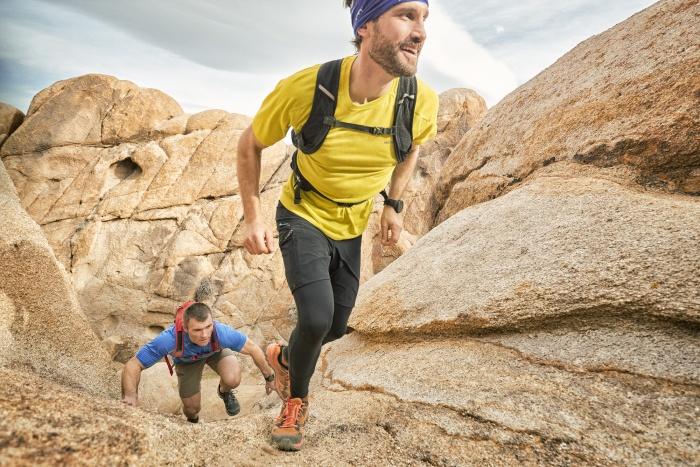 Merrell MQM Flex Ambassadors Hiking In Mountains